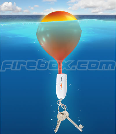 waterbuoy rapid activation floating key chain