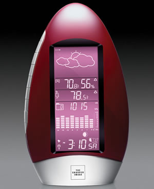 Sharper Image Waterdrop Weather Station