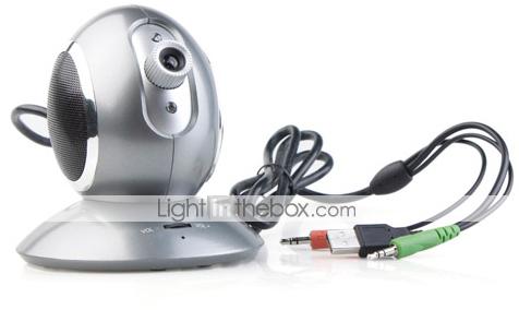 Speaker, Webcam and Microphone