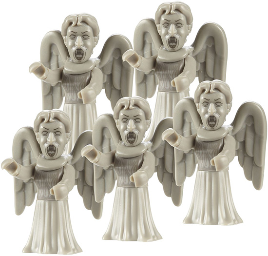 Weeping Angel Doctor Who Character Building Army Pack