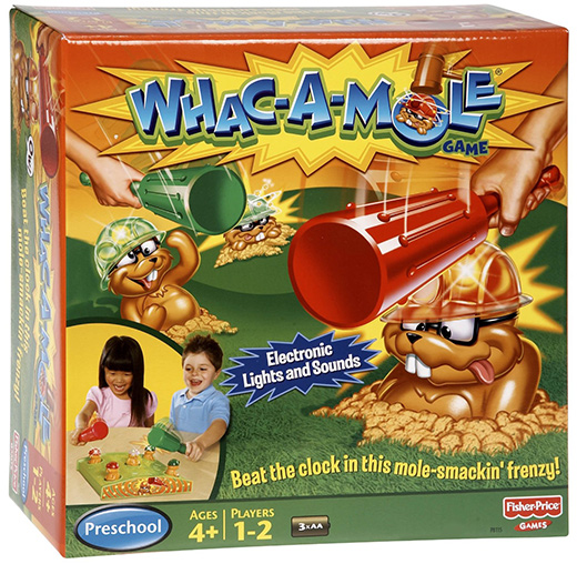 Image result for whack a mole board game
