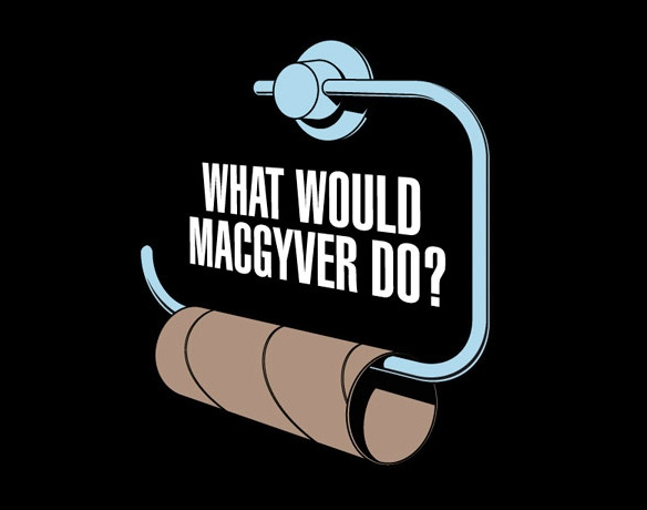 What Would MacGuyver Do T-shirt