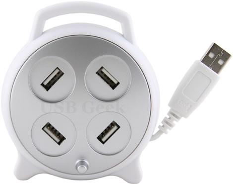 Whirl 4-Port USB Hub