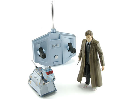 Doctor Who Action Figure with RC K9