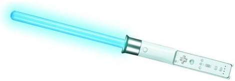Image result for nintendo wii lightsaber