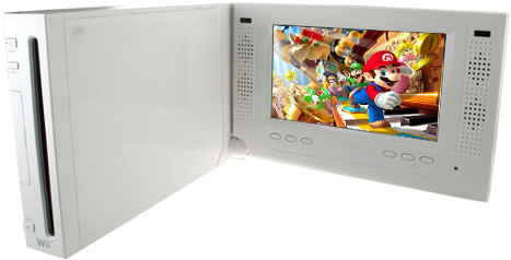 7-Inch Nintendo Wii LCD Monitor