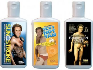 will farrell sunscreen