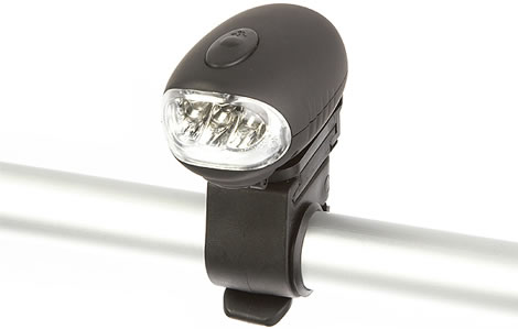 Bike Dynamo Flashlight 3-LED