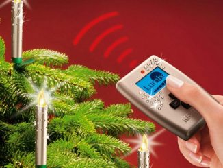 Wireless Christmas Tree Candles