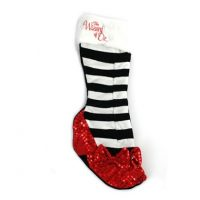 Wizard of Oz Ruby Slippers Christmas Stocking