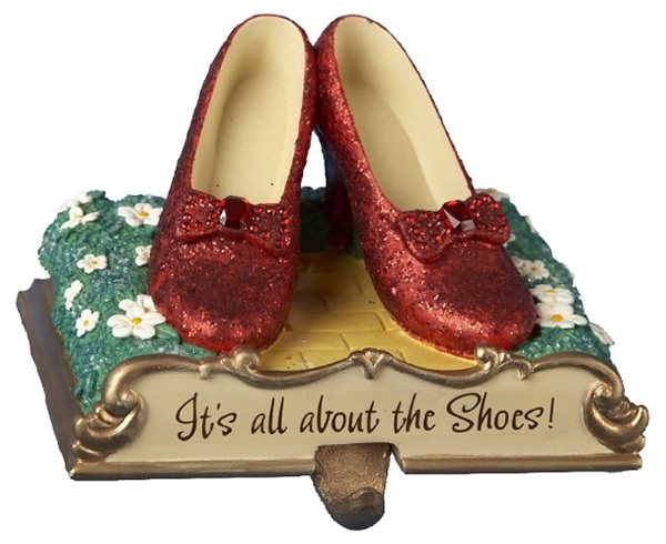 Wizard of Oz Ruby Slippers Stocking Holder
