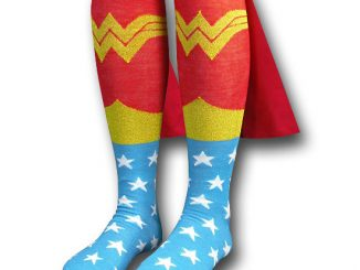Wonder Woman Cape Socks