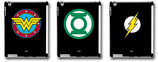 Wonder Woman, Green Lantern, and The Flash Xgear iPad2 Cases