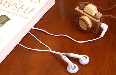 Wooden Camera MP3 Player