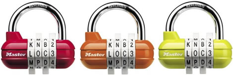 Word Password Combination Lock