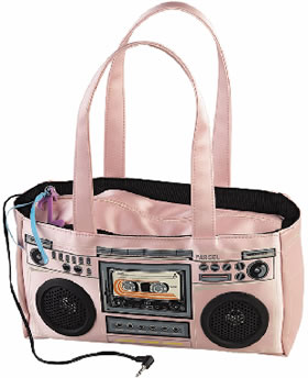 Working Boombox Bag