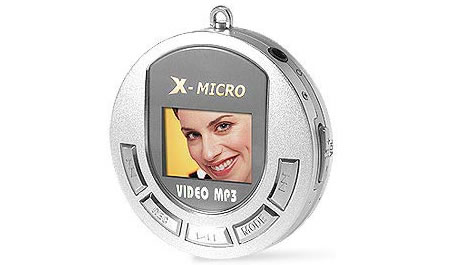 X-Micro Video MP3 Player