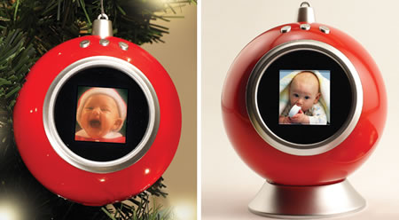Santa's Slide Show Ornament