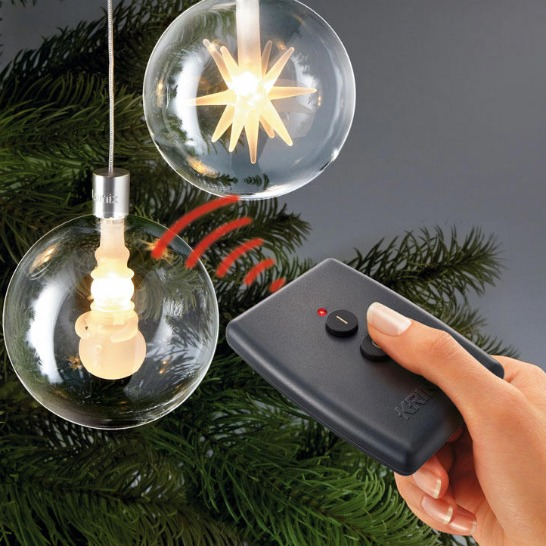 Wireless LED Christmas Tree Balls