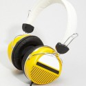Yellow Retro Headphones