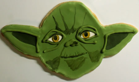 Yoda Cookie