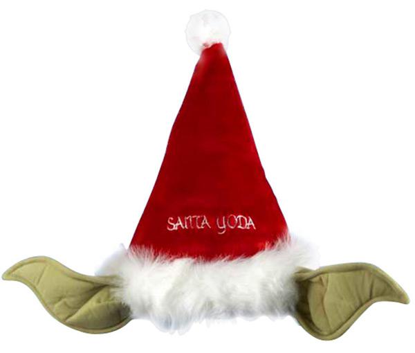 Yoda Santa Hat