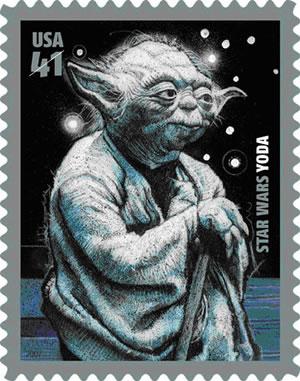 Yoda Stamp