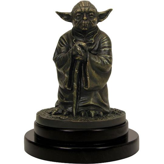 Solid Bronze Yoda Statue