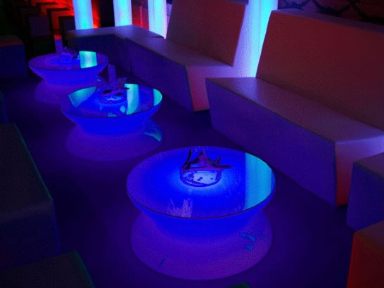 Illuminated Yo-Yo Table
