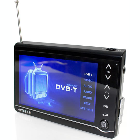 Portable Multimedia Player With Digital Tv