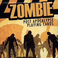 Zombie Apocalypse Playing Cards