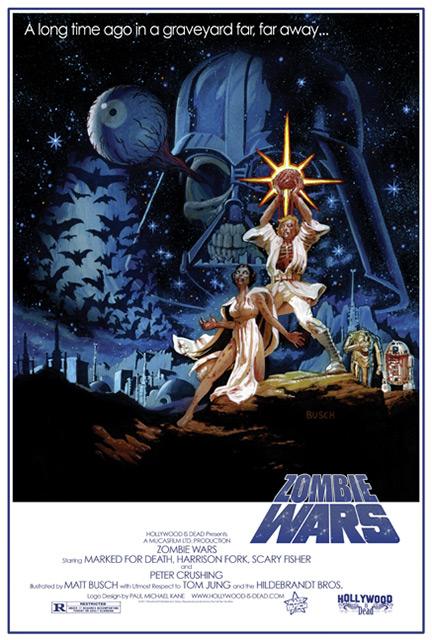 Zombie Star Wars Movie Posters