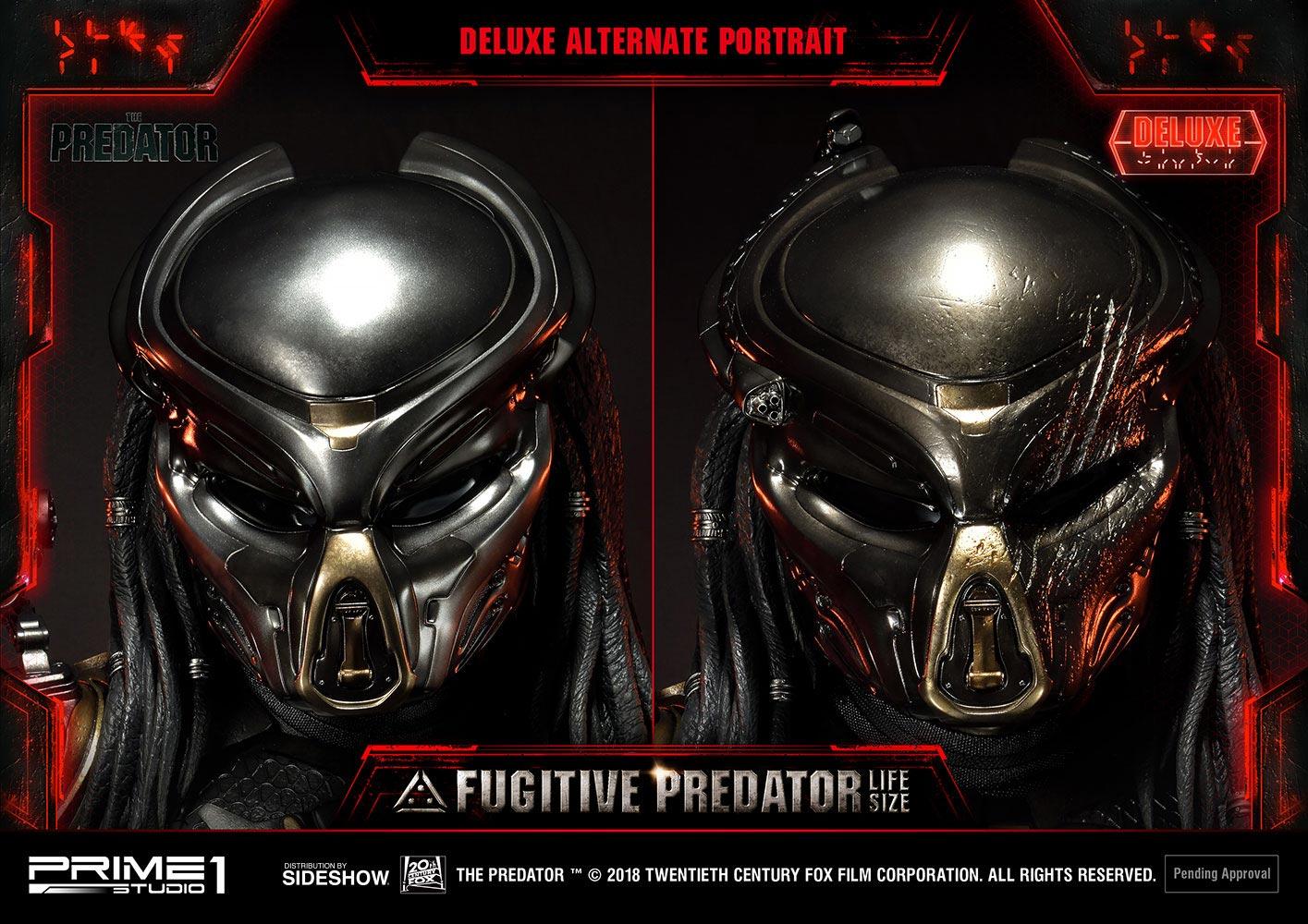 Fugitive Predator Deluxe Bust
