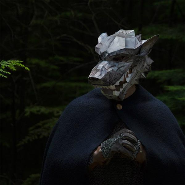 Game of Thrones House Stark Direwolf Mask