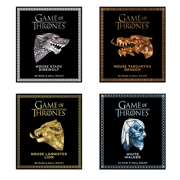 Game of Thrones Paper Mask Books