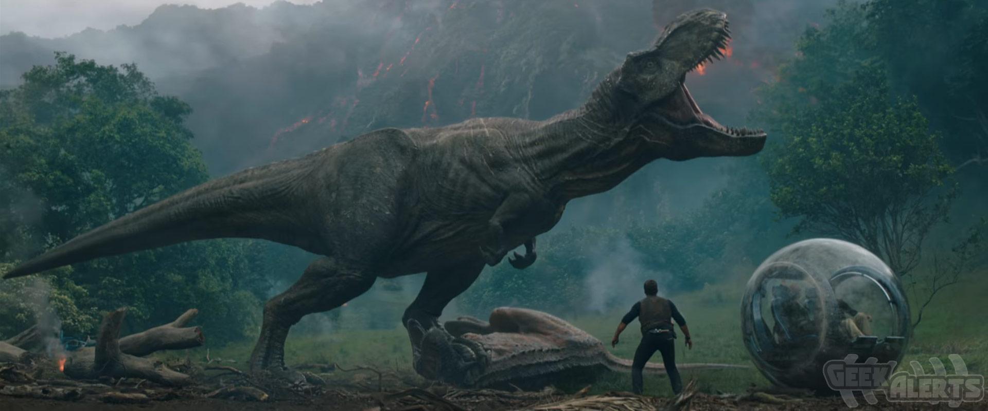 Jurassic World: Fallen Kingdom Trailer #2