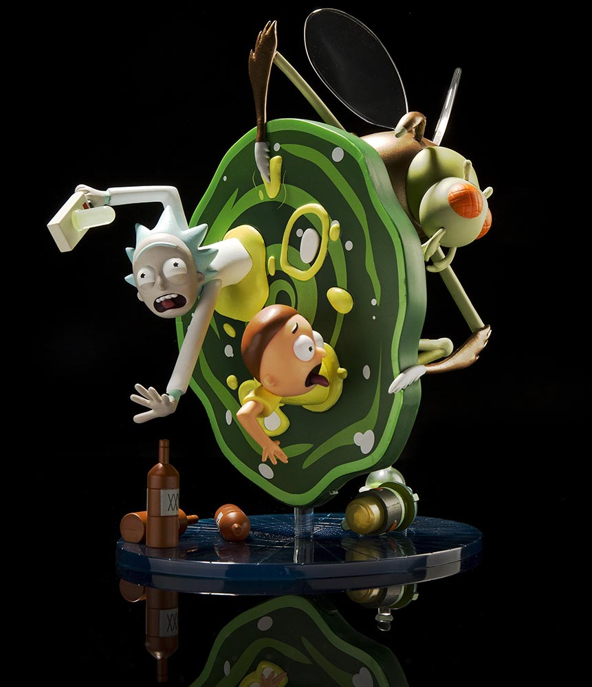 Kidrobot Rick and Morty Medium Figure