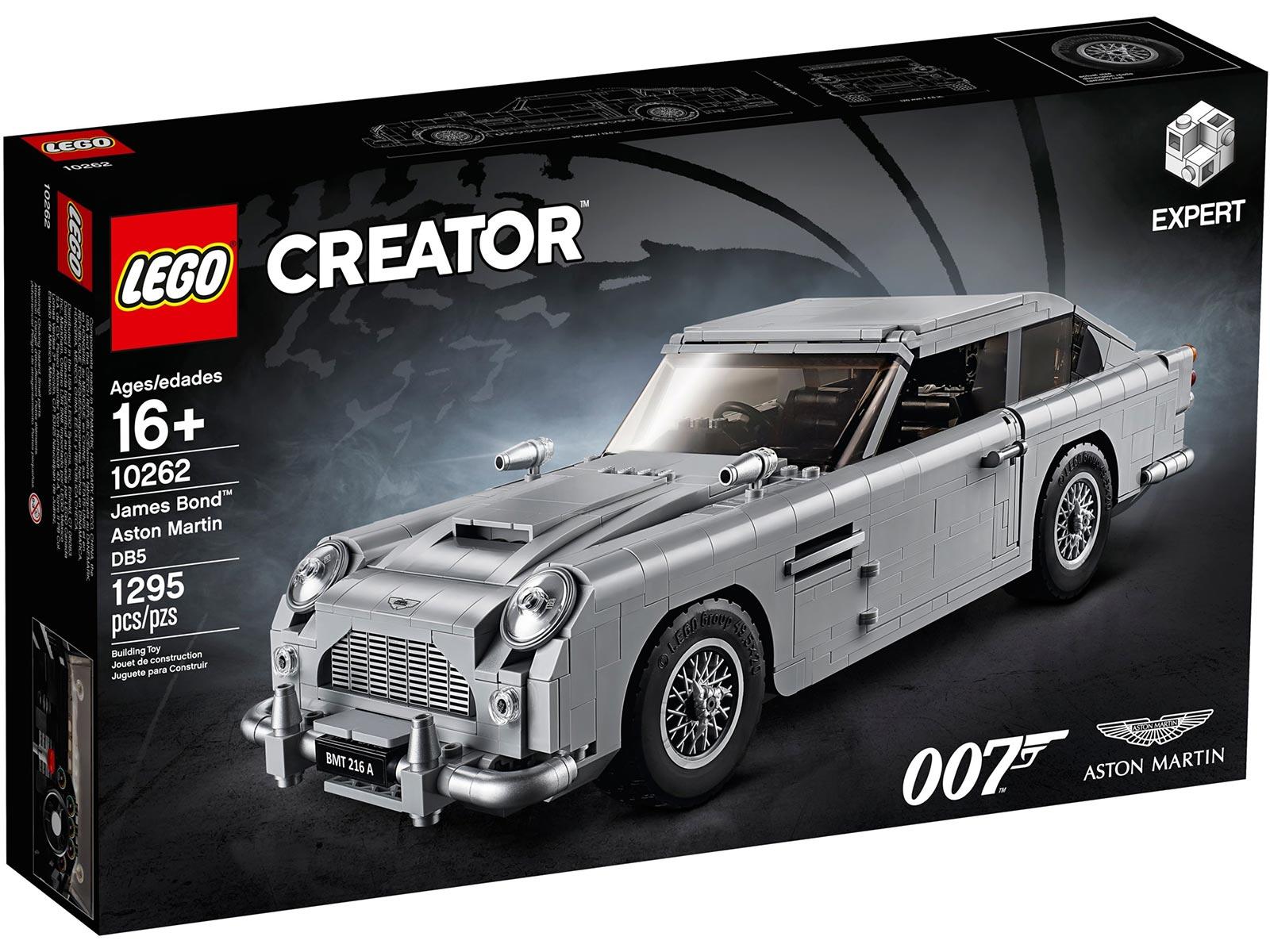 LEGO Creator James Bond Aston Martin DB5 Box
