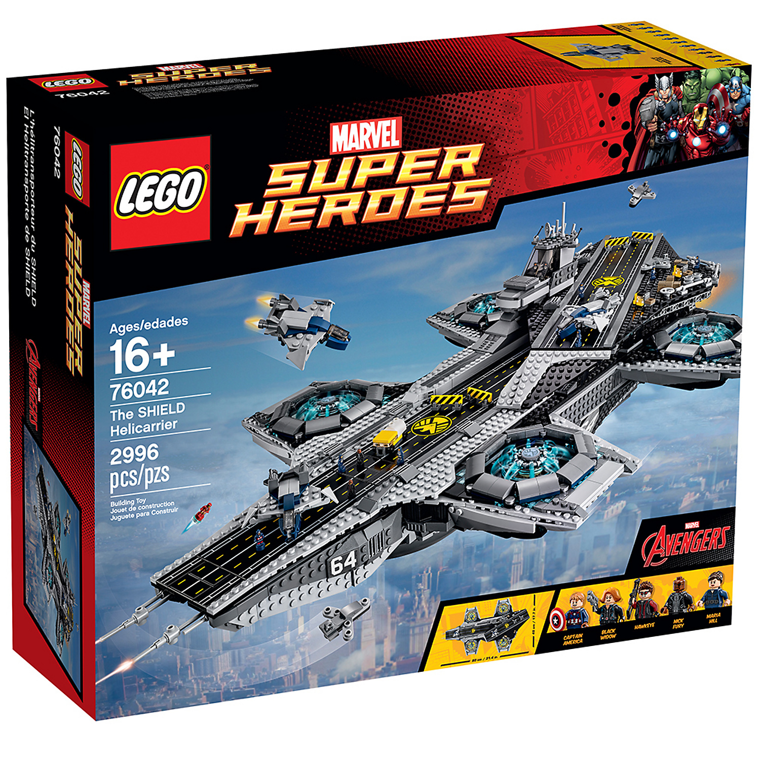 LEGO Super Heroes Marvel SHIELD Helicarrier 76042