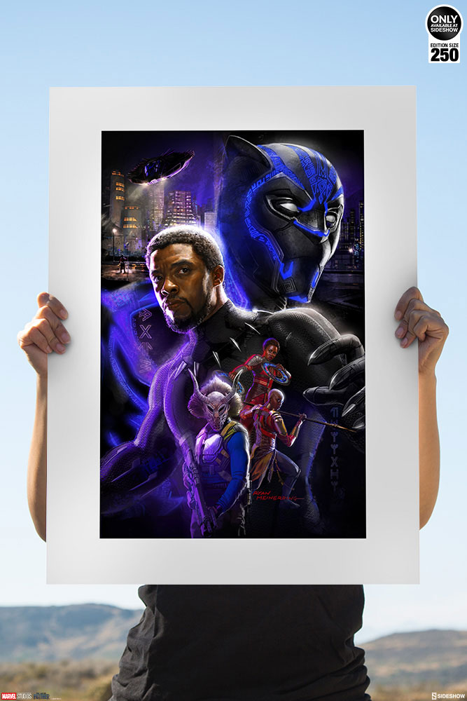 Limited Edition Black Panther Print