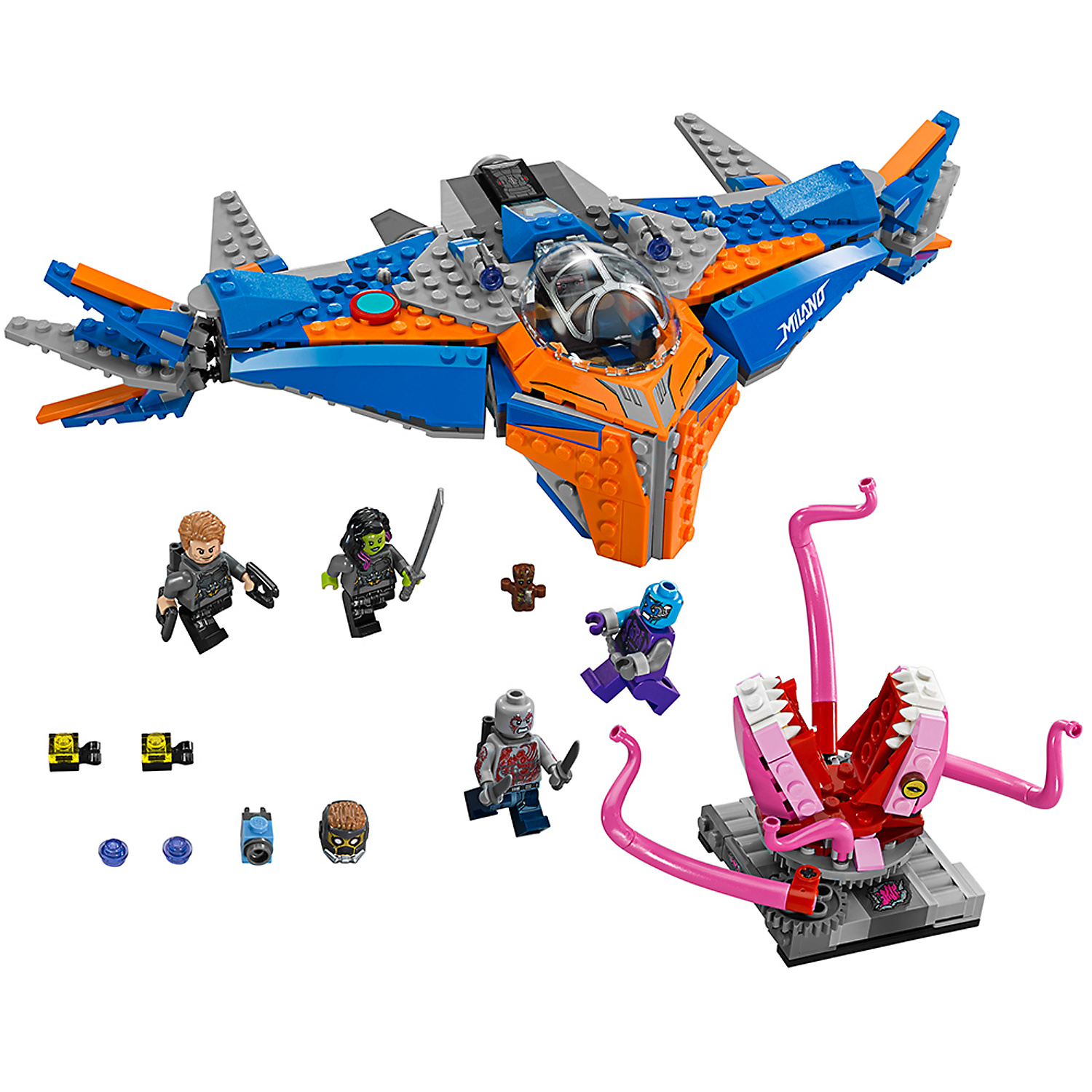 Guardians of the Galaxy LEGO Milano vs Abilisk Set 67081