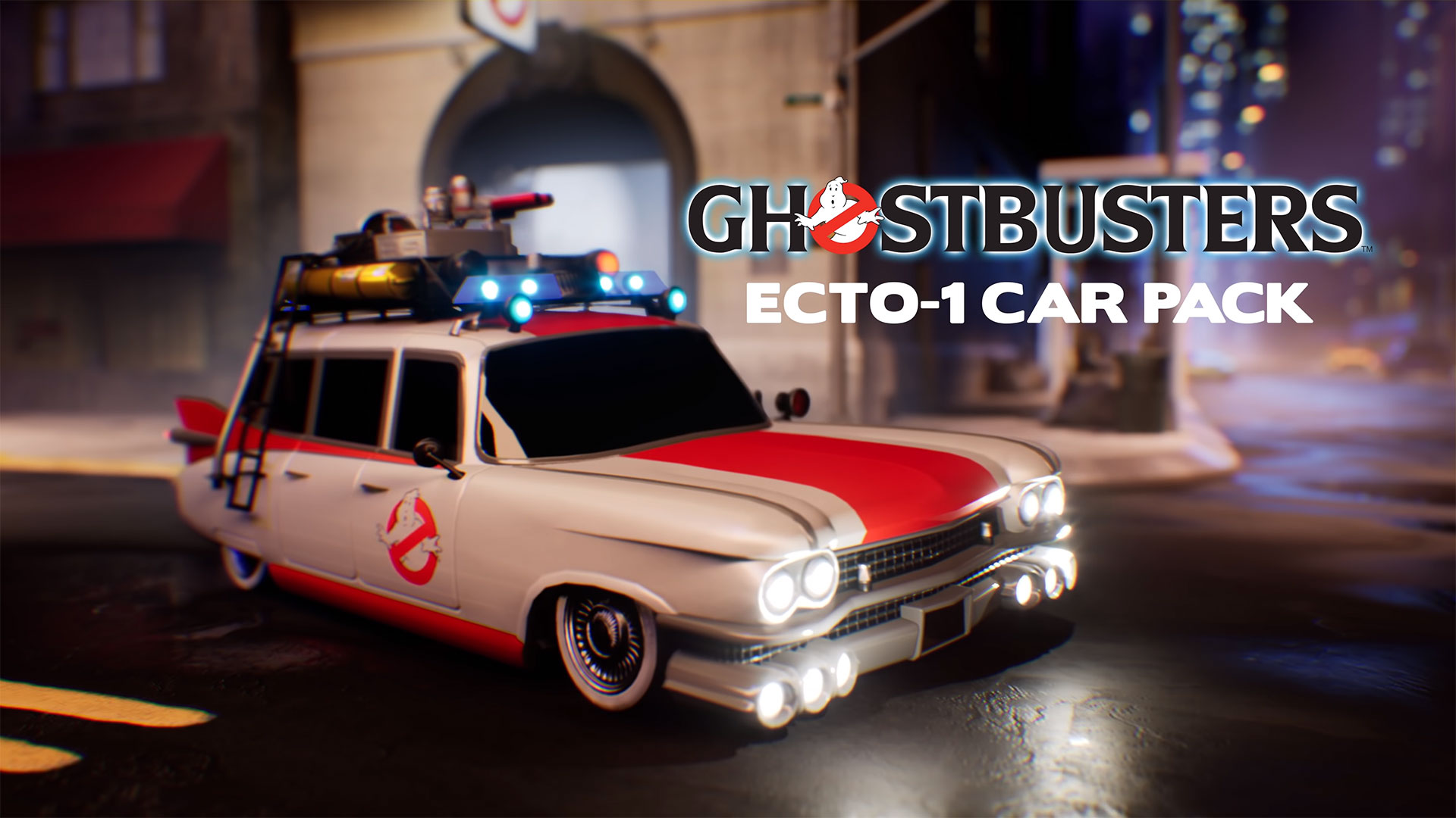 Rocket League Ghostbusters ECTO-1 Car Pack