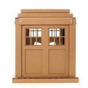 Doctor Who TARDIS Cardboard Cat House