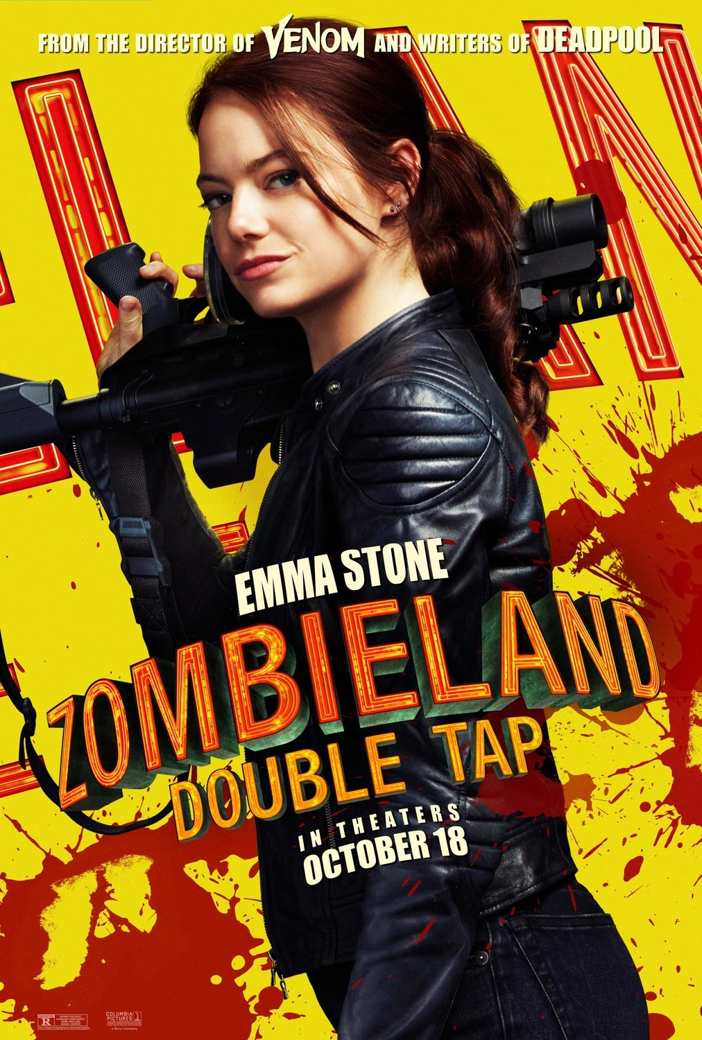 Emma Stone Zombieland: Double Tap Poster