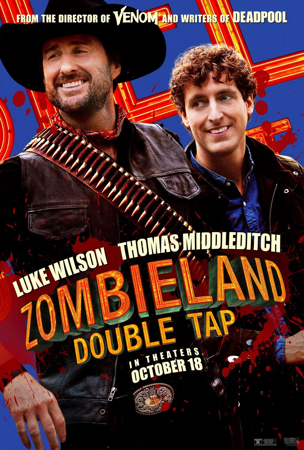 Luke Wilson and Thomas Middleditch Zombieland: Double Tap Poster