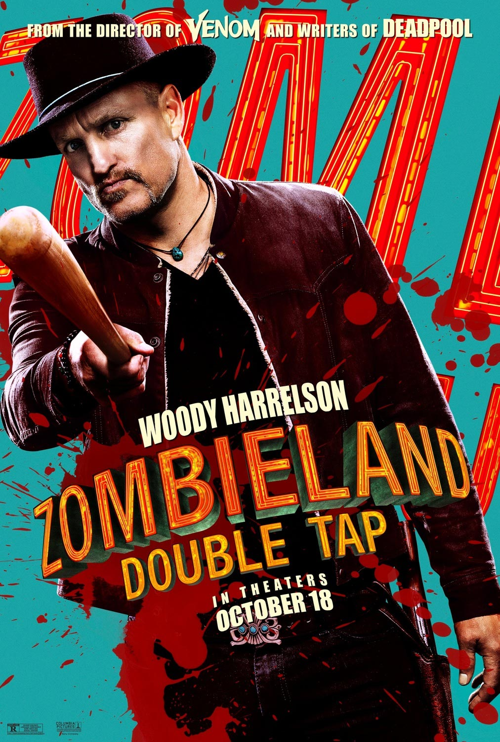 Woody Harrelson Zombieland: Double Tap Poster
